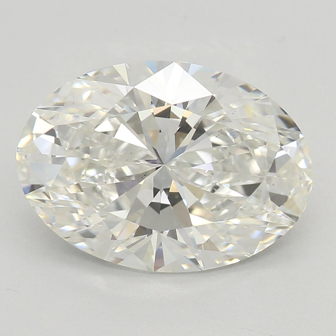 2.31 Carat H-VS2 Excellent Oval Diamond