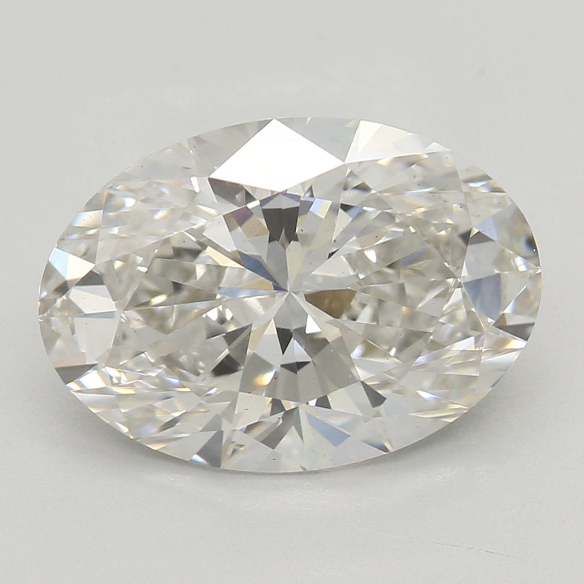 2.48 Carat H-VS2 Excellent Oval Diamond