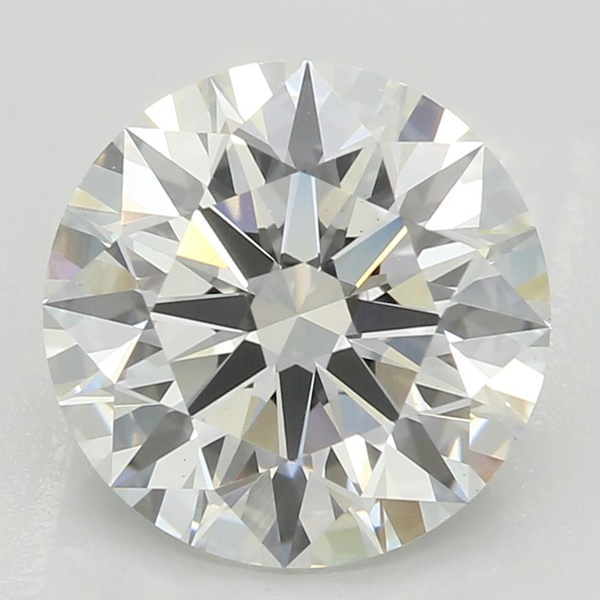 2.34 Carat H-VS2 Ideal Round Diamond