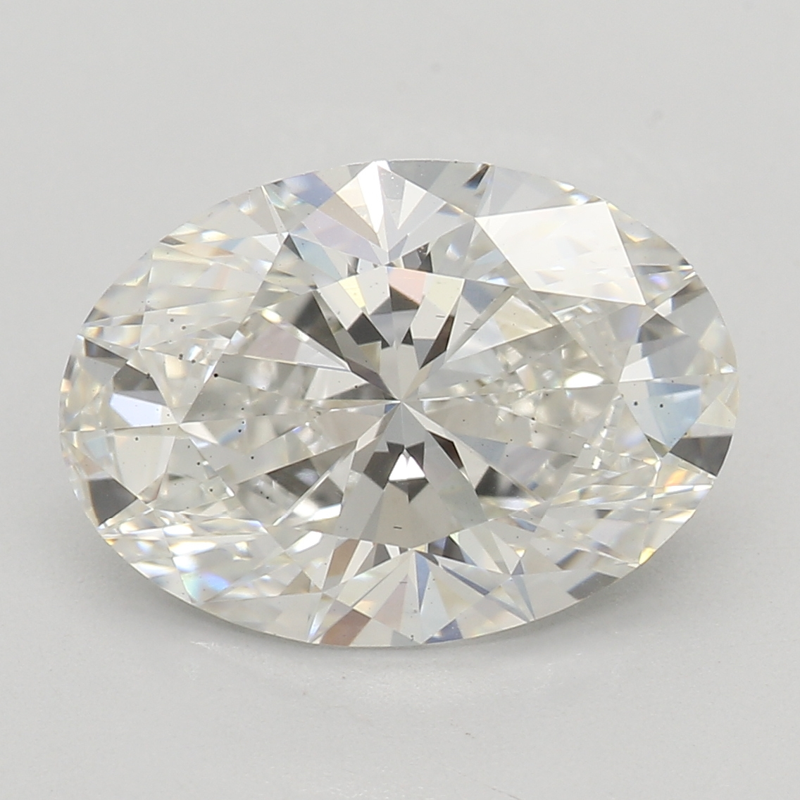 2.40 Carat H-VS2 Excellent Oval Diamond