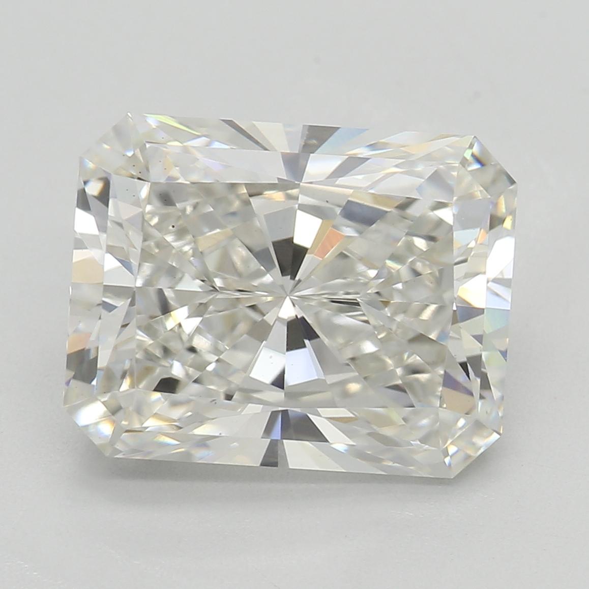 3.08 Carat I-VS2 Excellent Radiant Diamond