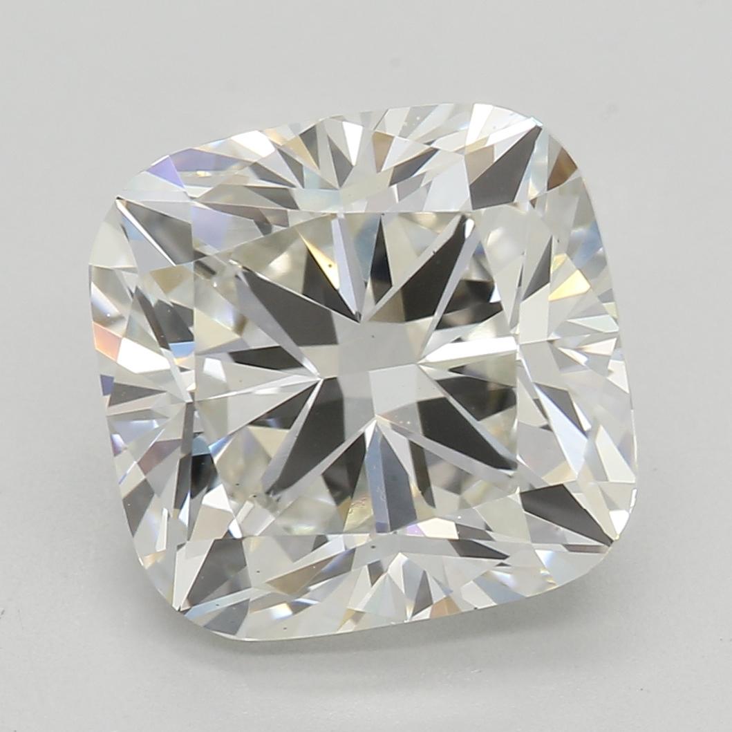3.04 Carat I-VS2 Excellent Cushion Diamond