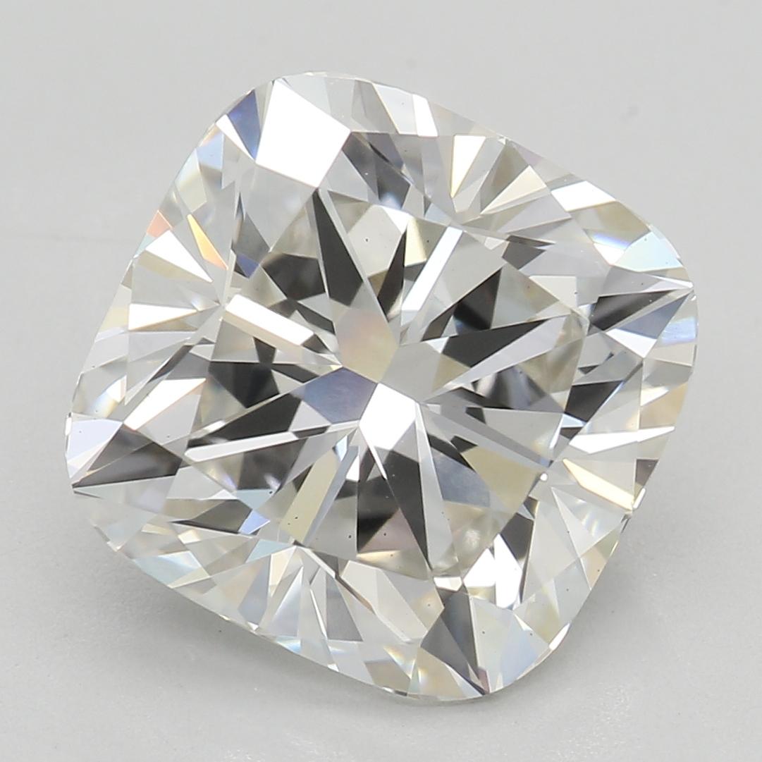 3.33 Carat I-VS1 Excellent Cushion Diamond