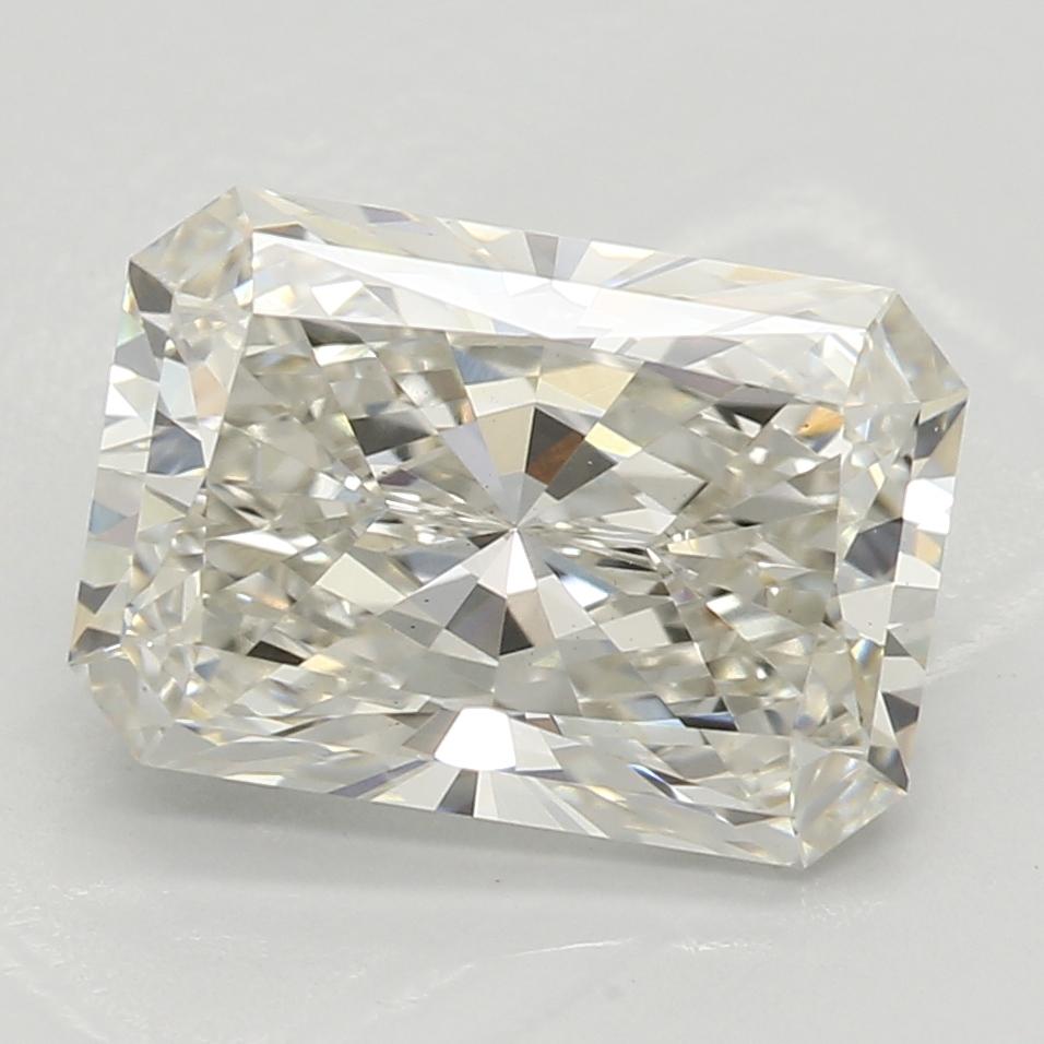 2.01 Carat I-VS2 Excellent Radiant Diamond