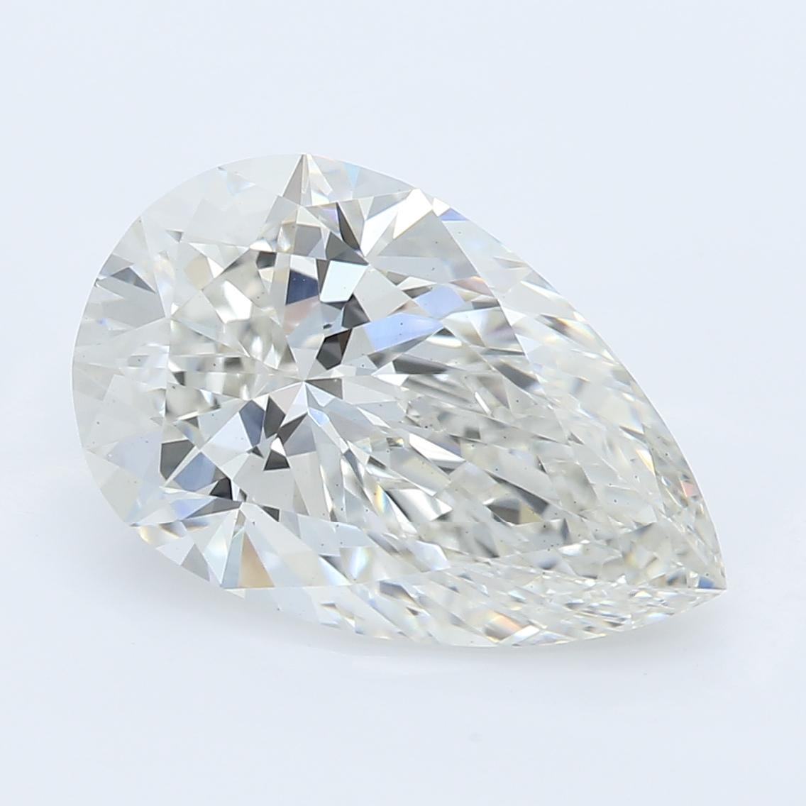 2.22 Carat I-VS2 Excellent Pear Diamond