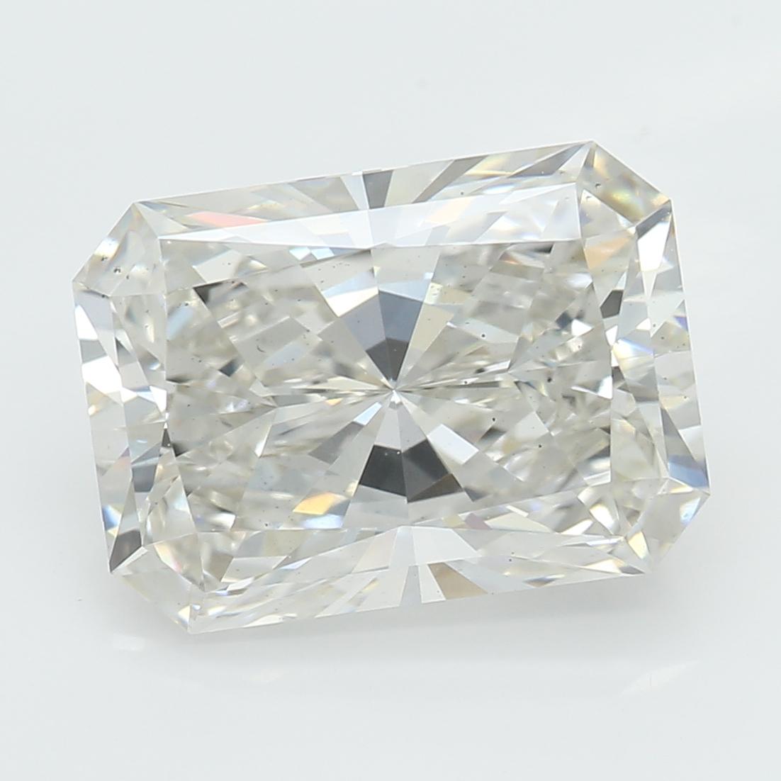 2.48 Carat I-VS2 Excellent Radiant Diamond