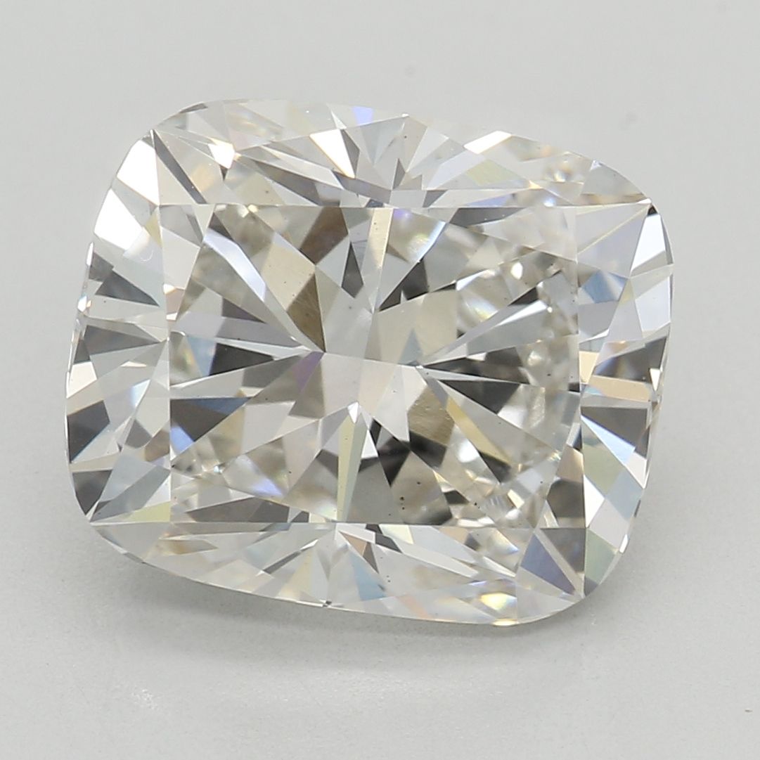 3.03 Carat I-VS1 Excellent Cushion Diamond