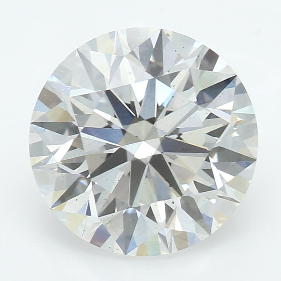2.09 Carat I-VS2 Ideal Round Diamond