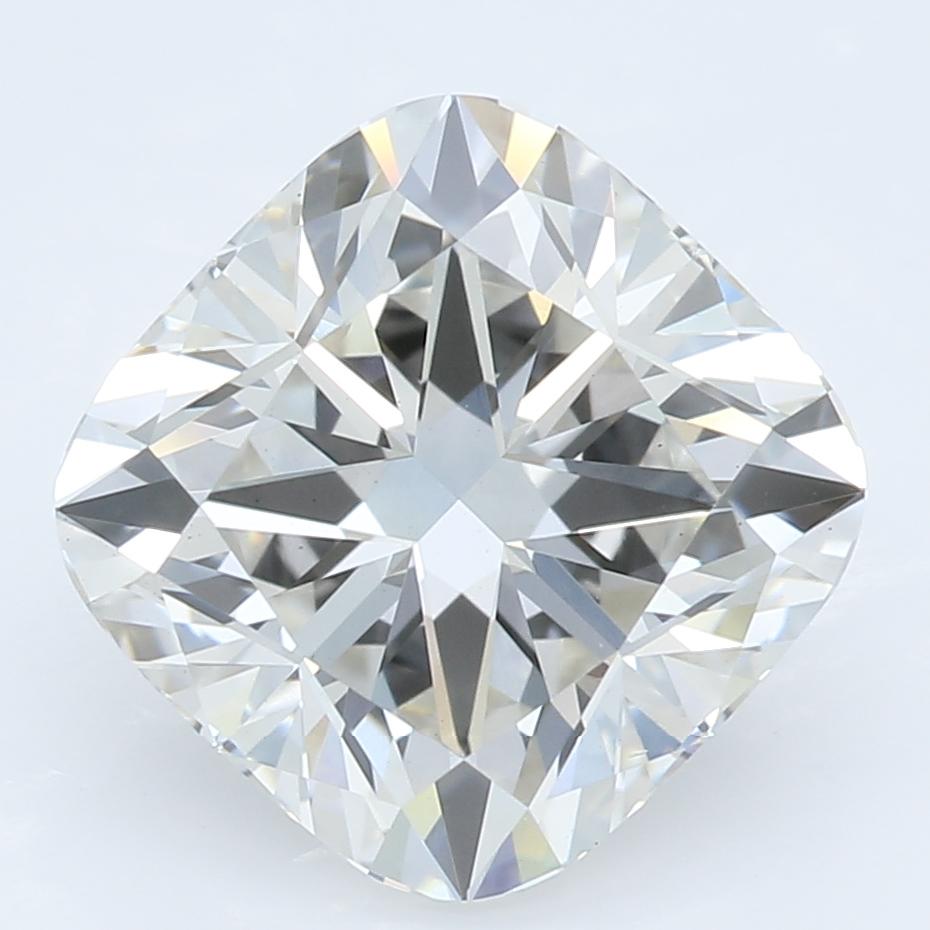 2.55 Carat I-VS2 Excellent Cushion Diamond