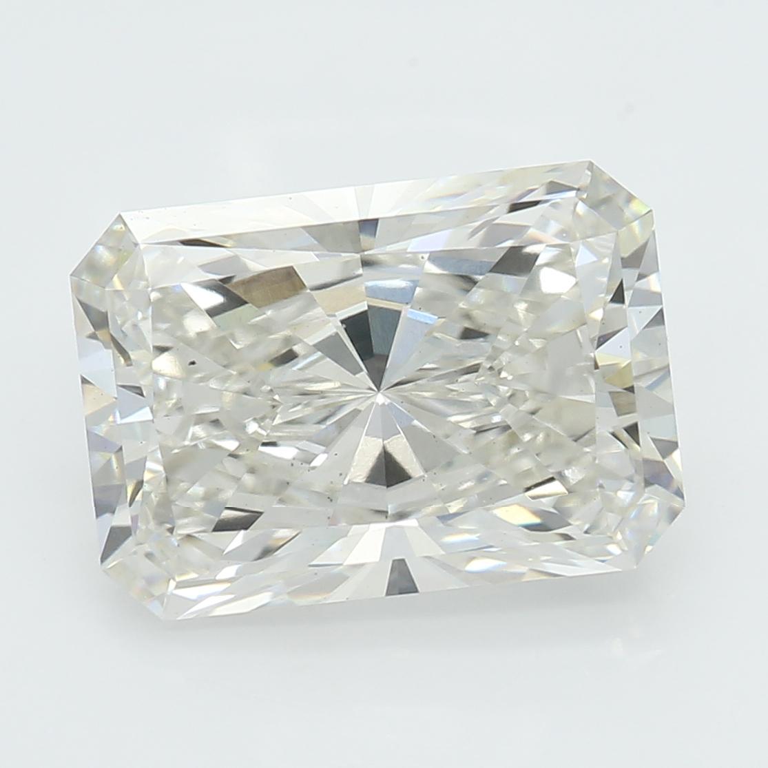 2.46 Carat J-VS2 Excellent Radiant Diamond