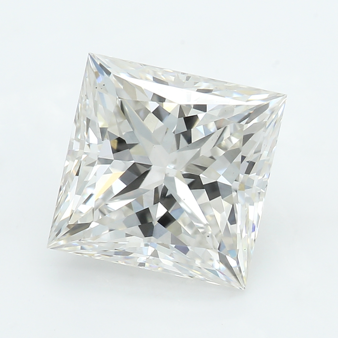2.44 Carat I-VS1 Excellent Princess Diamond