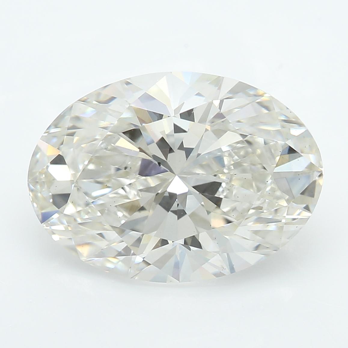 2.54 Carat I-VS2 Excellent Oval Diamond