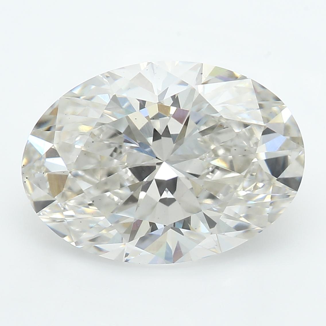 2.61 Carat I-VS2 Excellent Oval Diamond