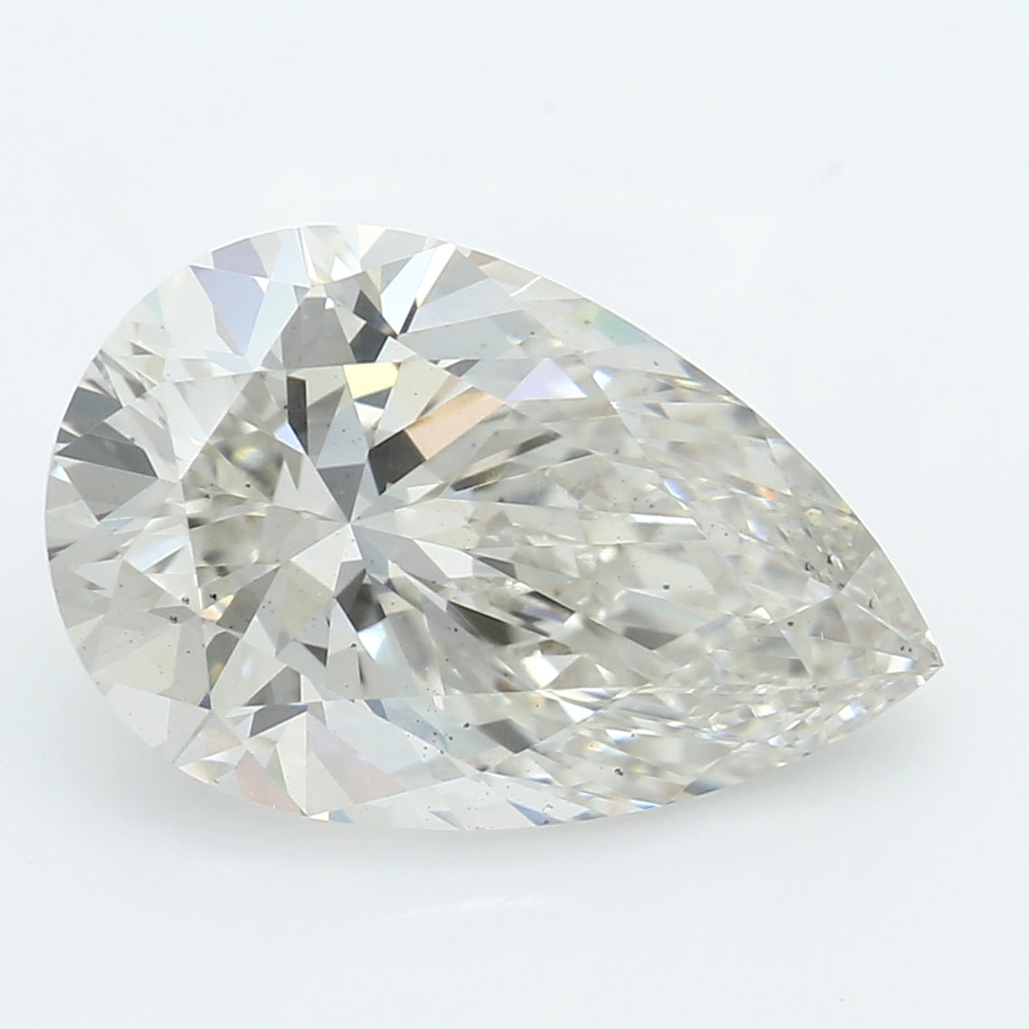 2.15 Carat I-SI1 Excellent Pear Diamond