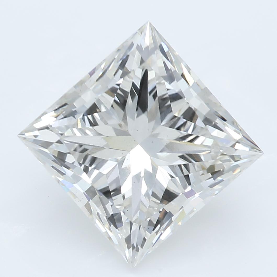 3.01 Carat I-VS2 Excellent Princess Diamond