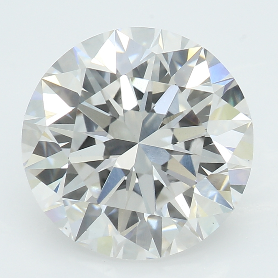 2.51 Carat H-VS2 Ideal Round Diamond