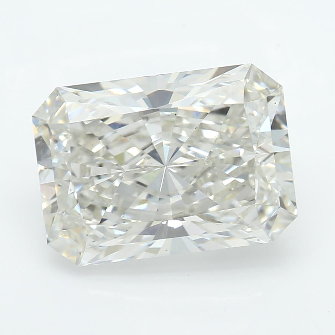 2.40 Carat J-VS2 Excellent Radiant Diamond