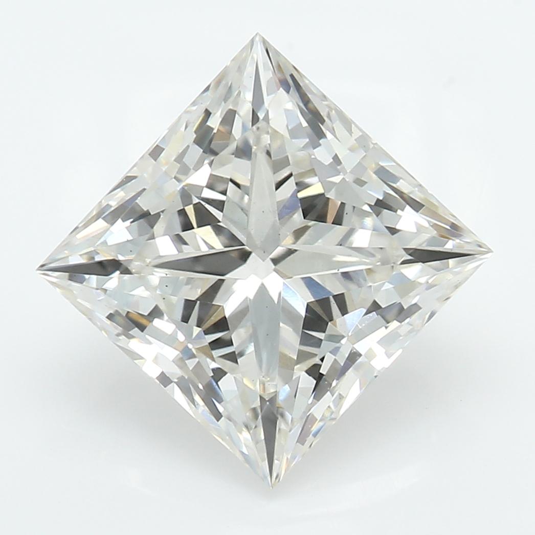 2.15 Carat J-VS2 Excellent Princess Diamond
