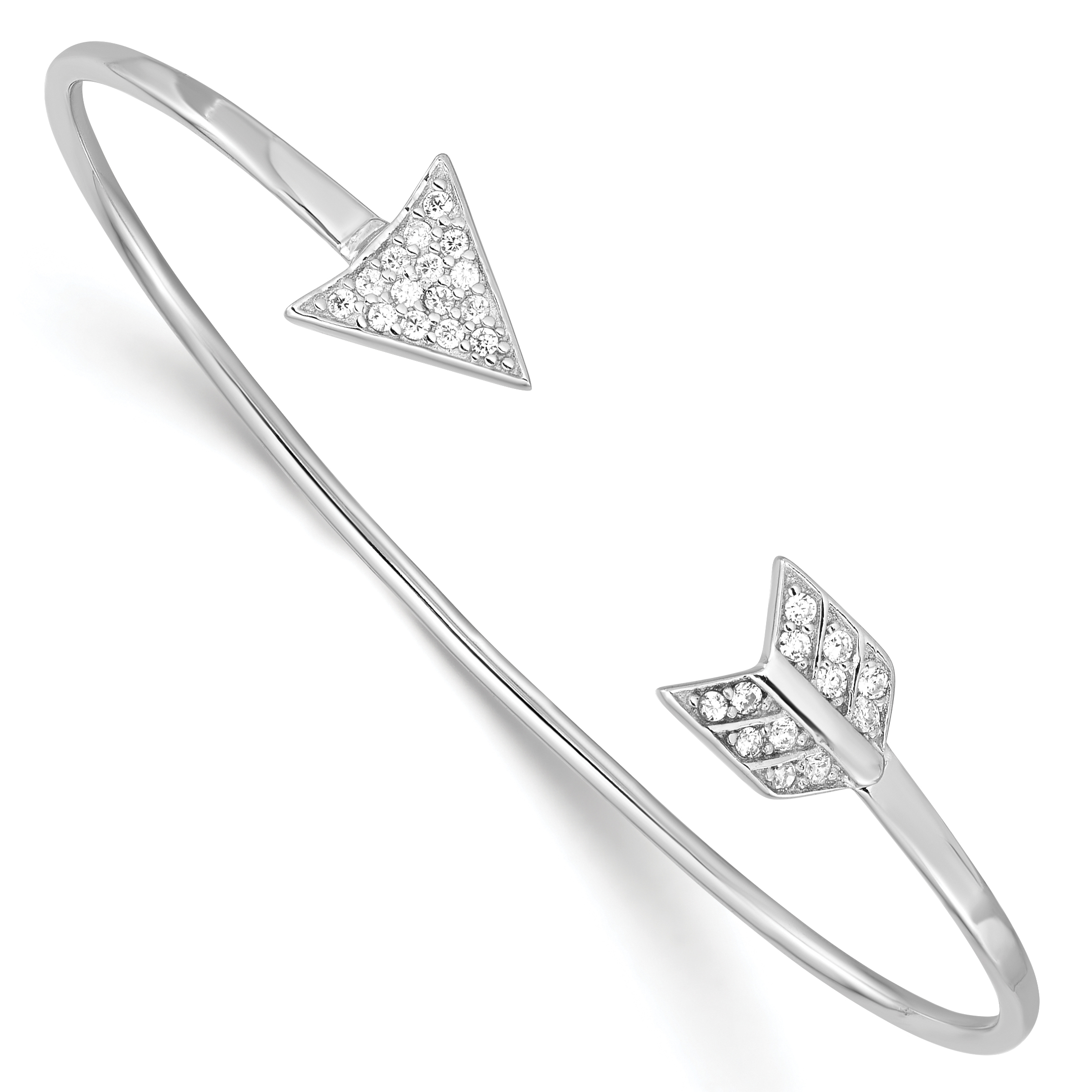 bangles cuff bangle llc bracelets reverse diamond open collections atheria