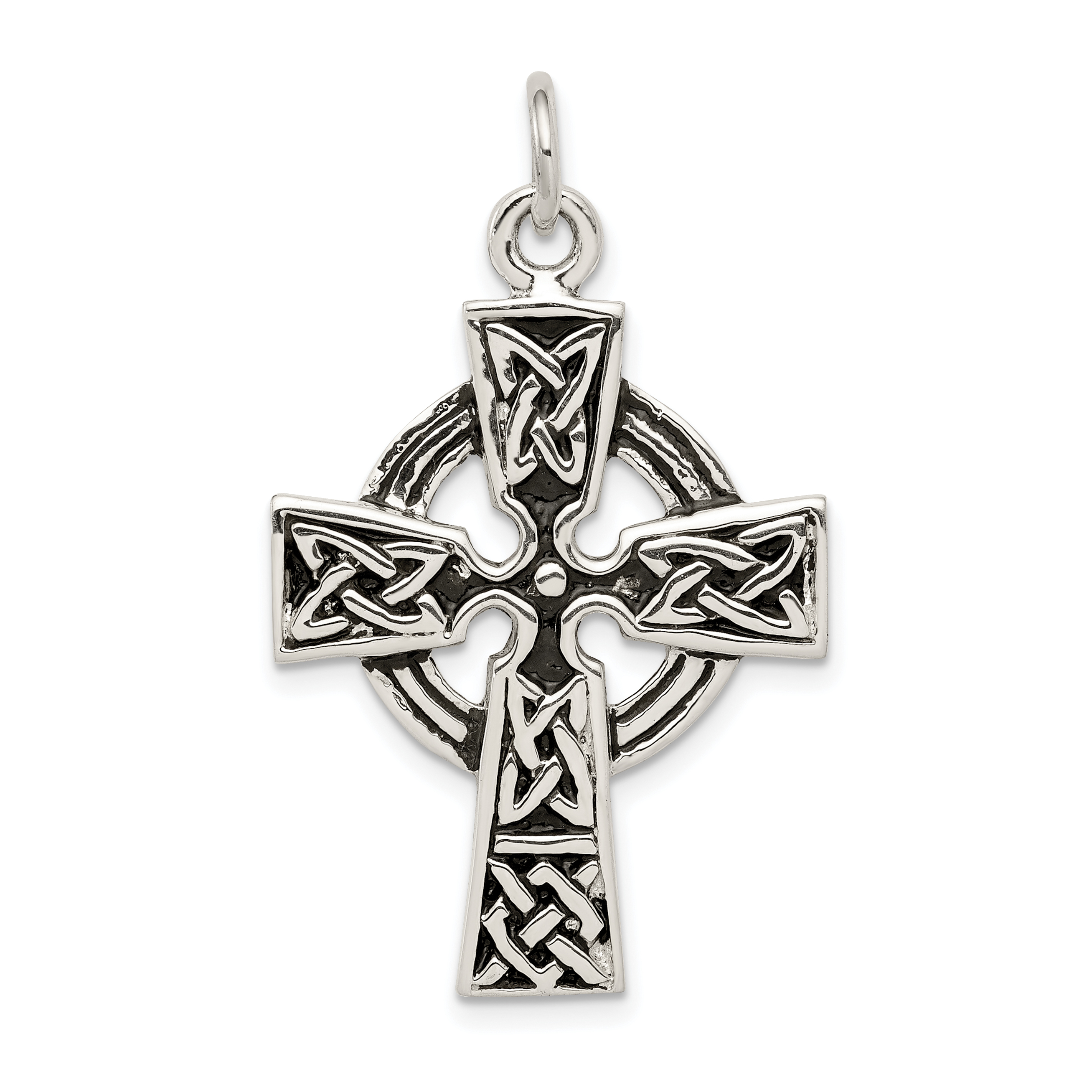 Sterling silver eastern orthodox cross charm weight grams sterling silver antiqued celtic cross charm weight 54 grams length 34mm buycottarizona