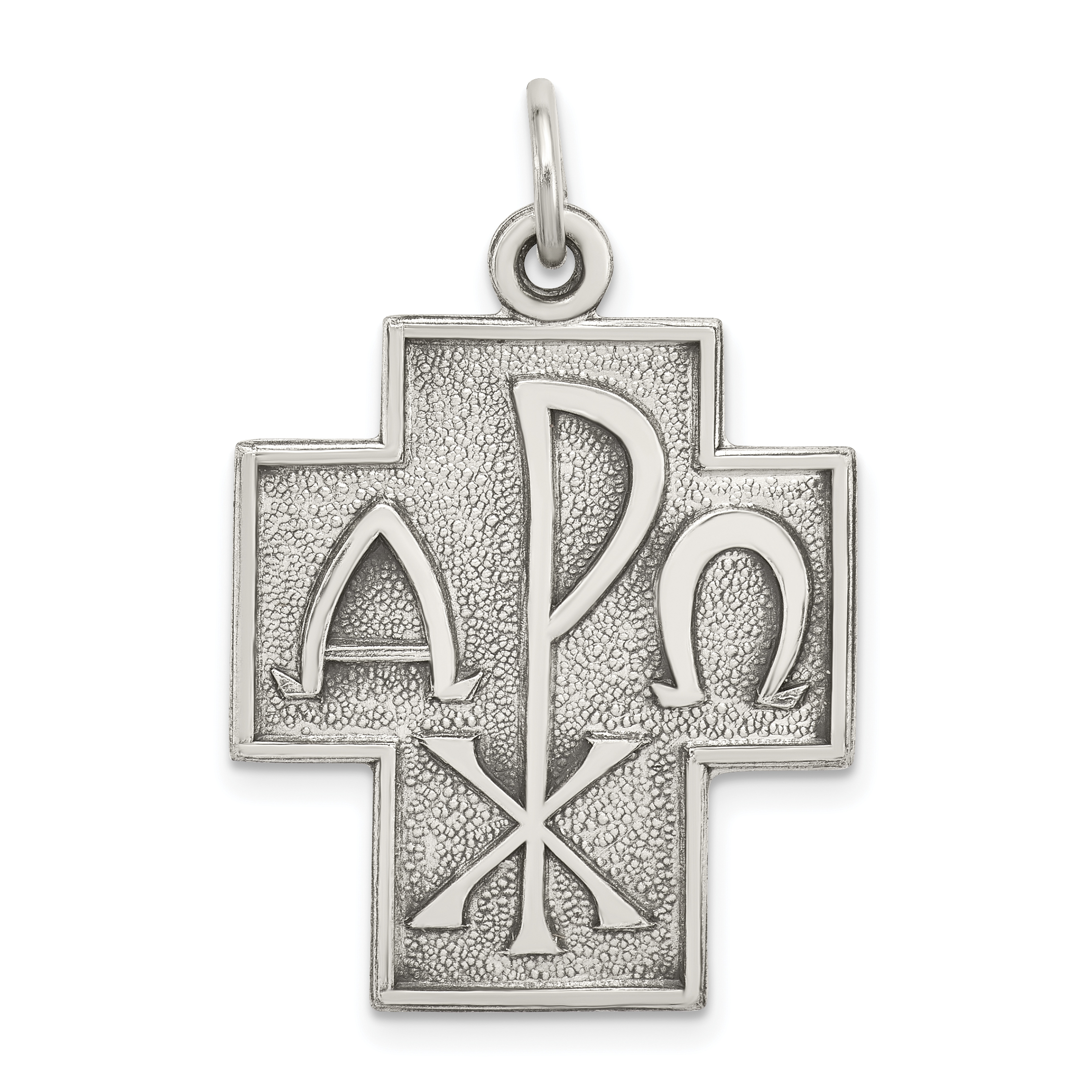Silver antiqued alpha omega cross pendant weight 329 grams sterling silver antiqued alpha omega cross pendant weight 329 grams length 29mm width 22mm mozeypictures Gallery