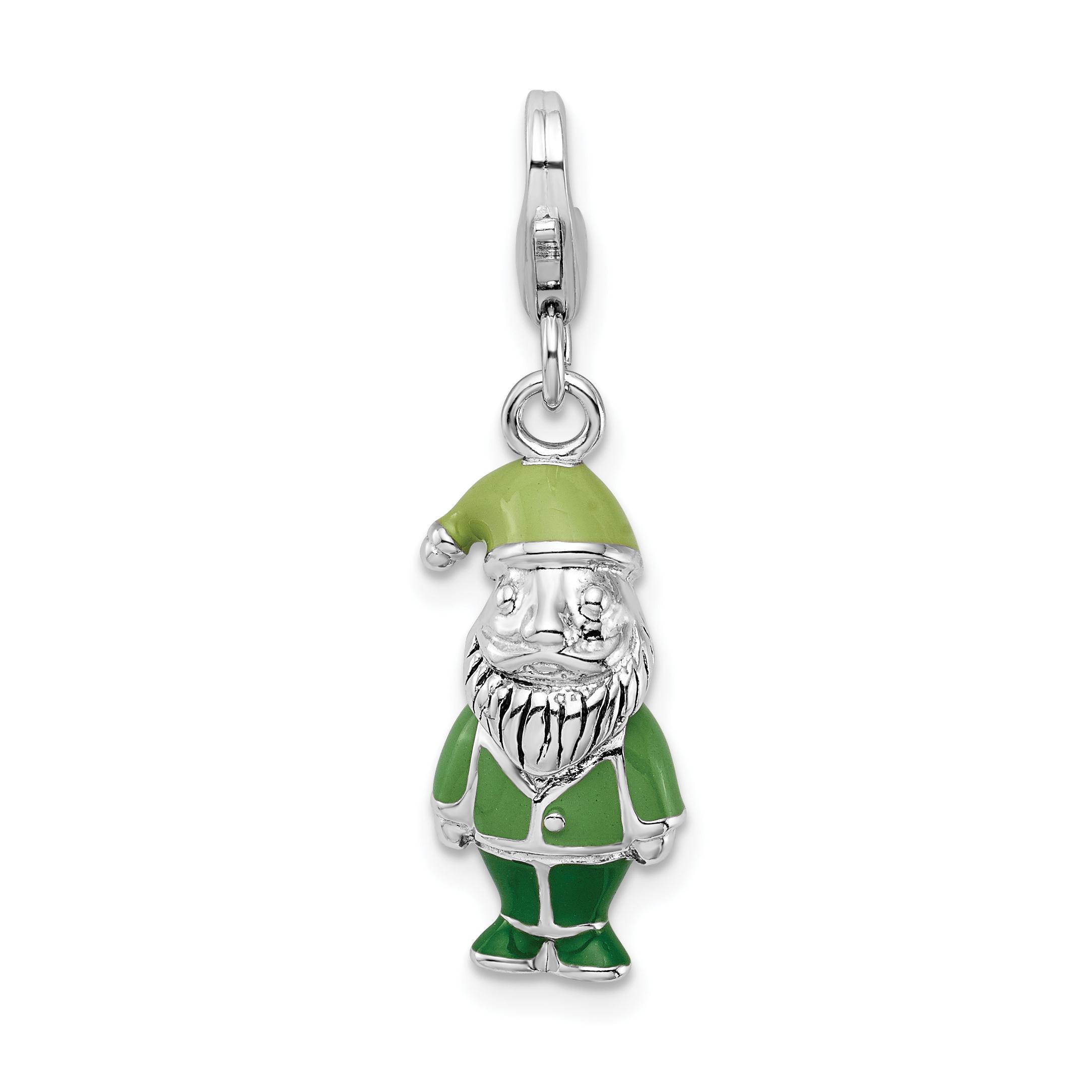 Jewellery & Watches Fan Shop Sterling Silver Enamel Univ Florida w/Lobster Clasp Charm