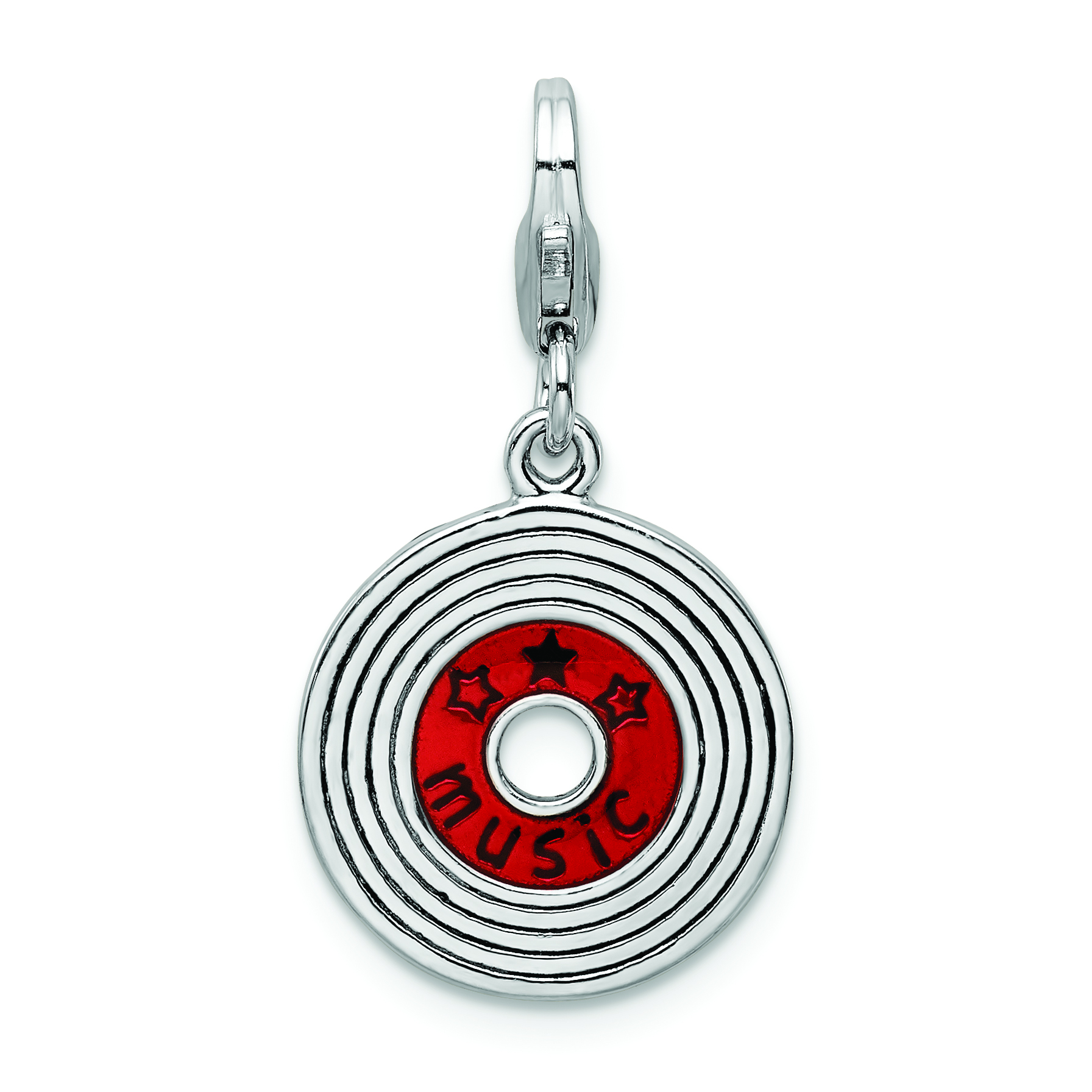 gifts music note handmade polymer clay previous on pendant silver plated chain