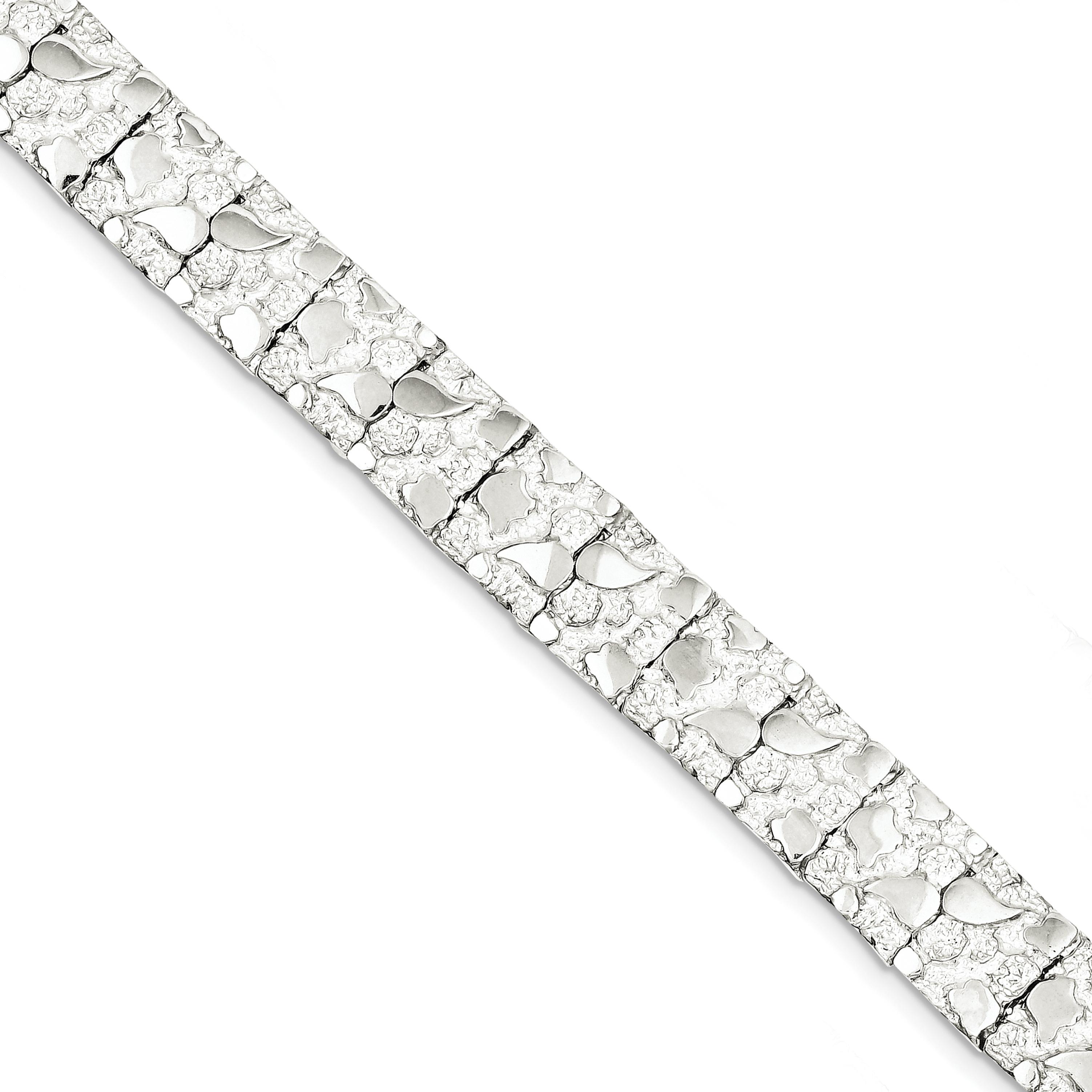 Sterling Silver Nugget Bracelet