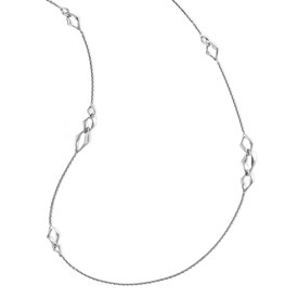 Sterling Silver Rhodium-plated Necklace