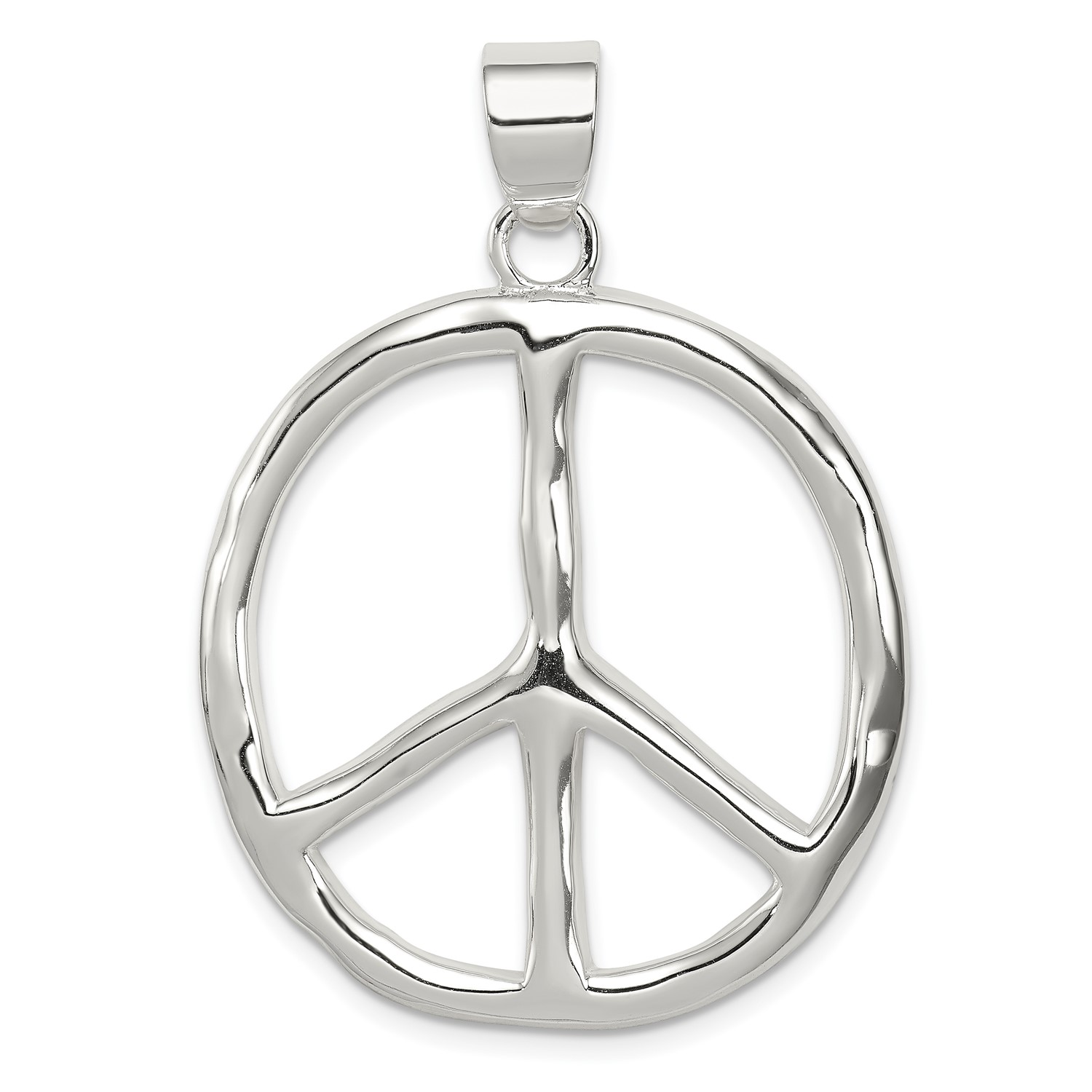 Sterling-Silver-Polished-Peace-Pendant-1-6INx1-1IN