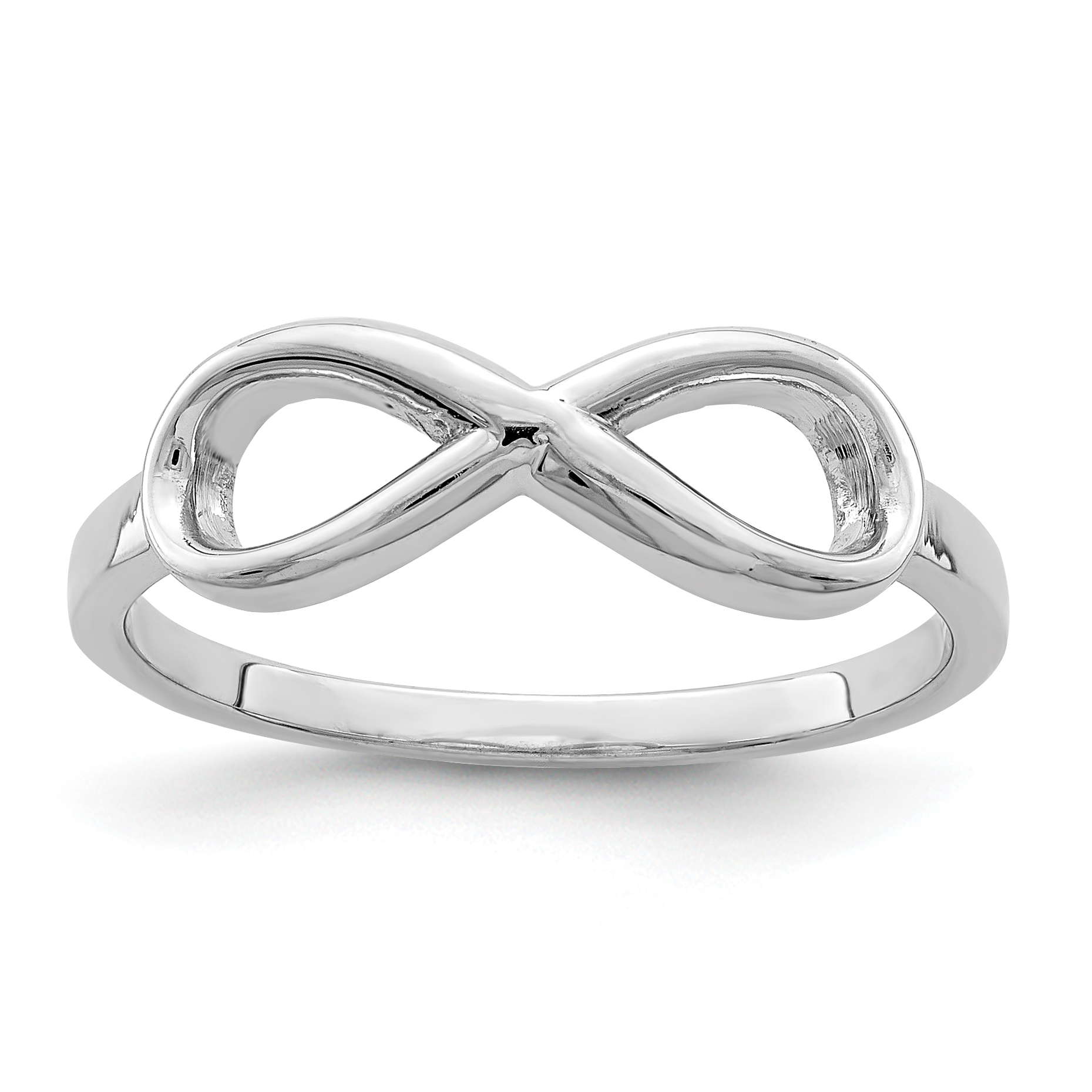 infinity ring jewelry tiffany in infinitynarrow rings sterling usm band ed co m op narrow silver