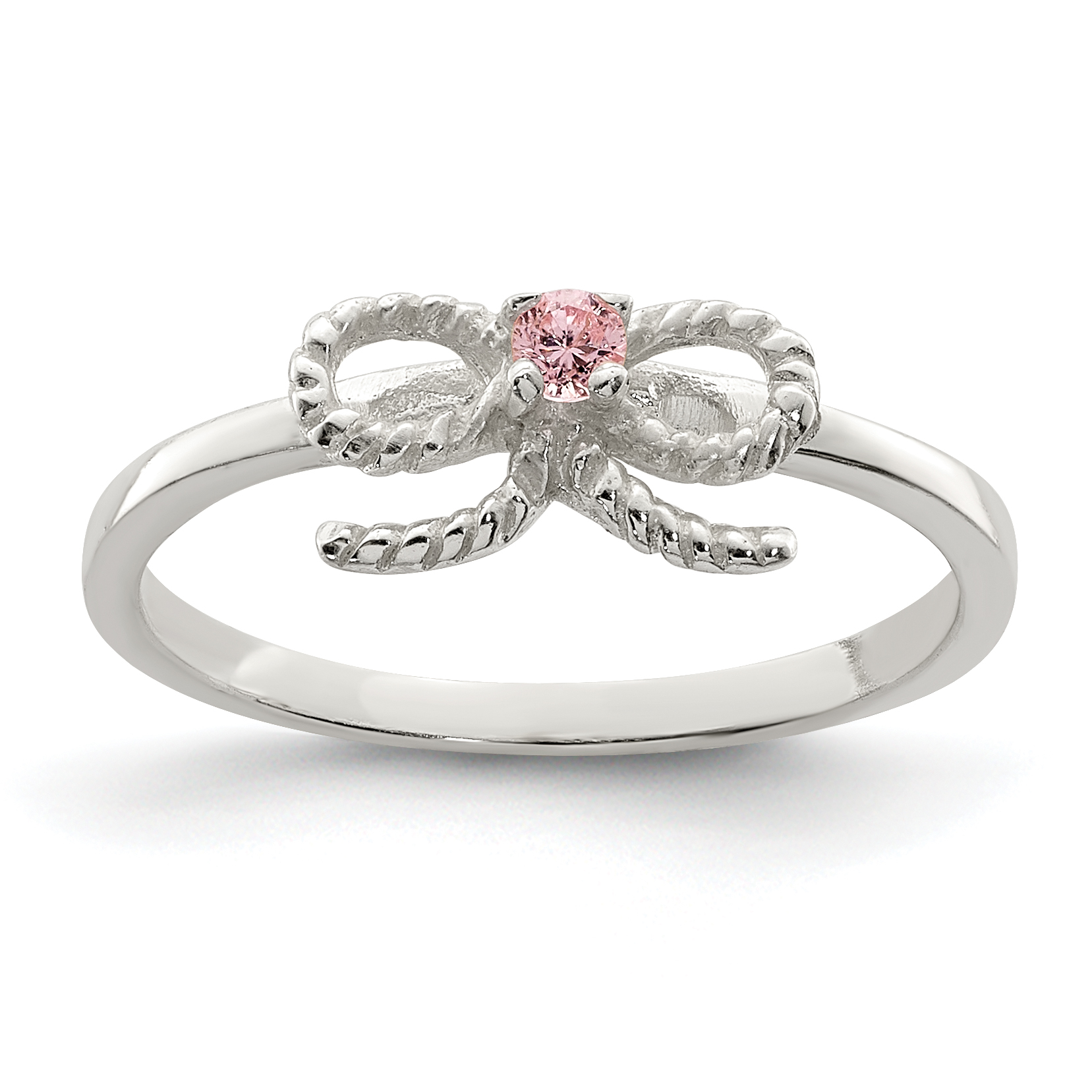 Click Thumbnails To Enlarge: Pink Bow Wedding Ring At Reisefeber.org