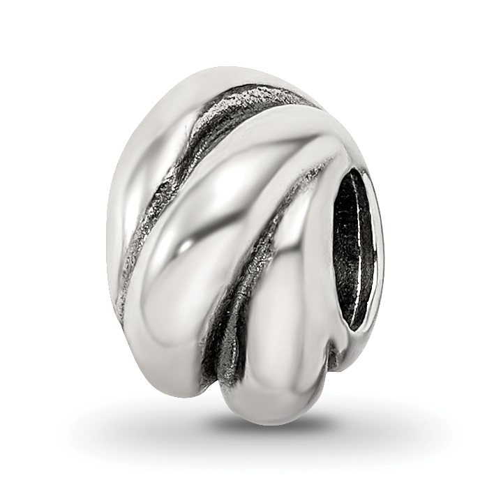 Sterling Silver Reflections Wrap Bali Bead