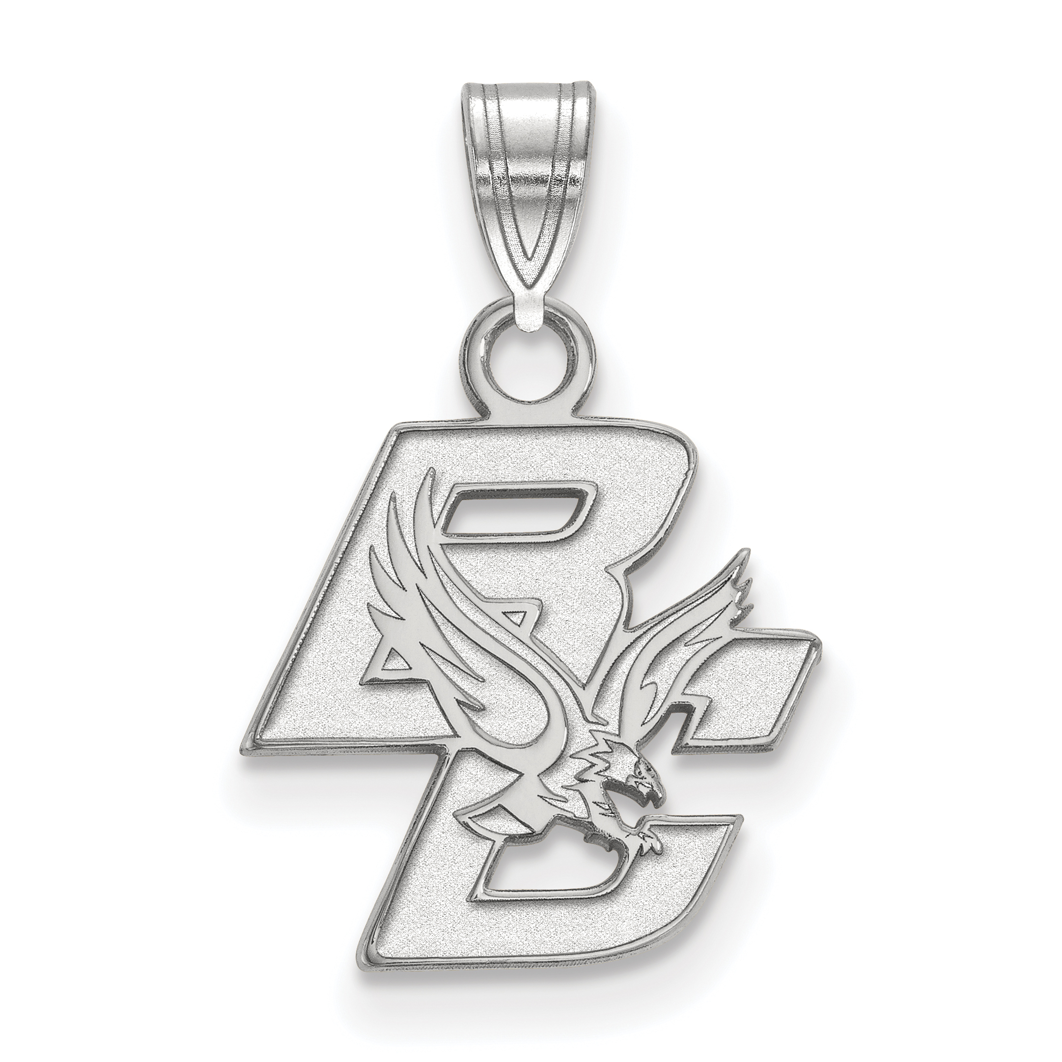 Boston college pendants 14kw logoart boston college small pendant mozeypictures Image collections