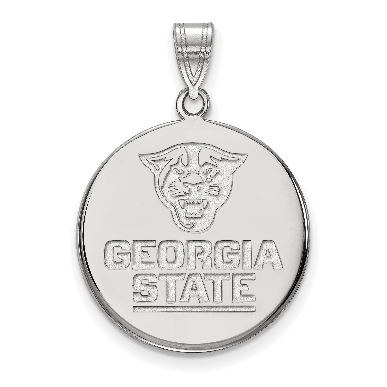 14kw LogoArt Georgia State University Large Disc Pendant