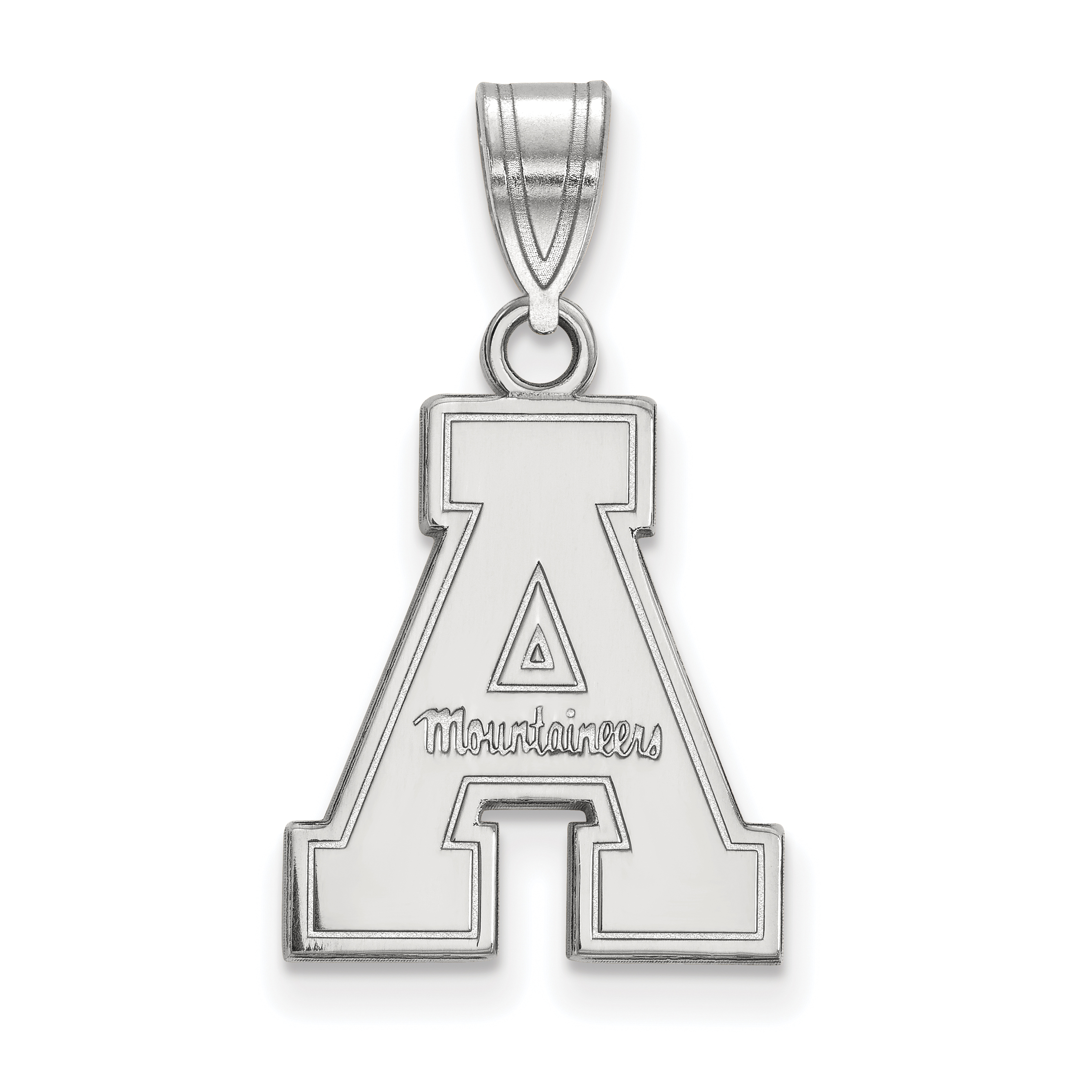 14kw LogoArt Appalachian State University Medium Pendant