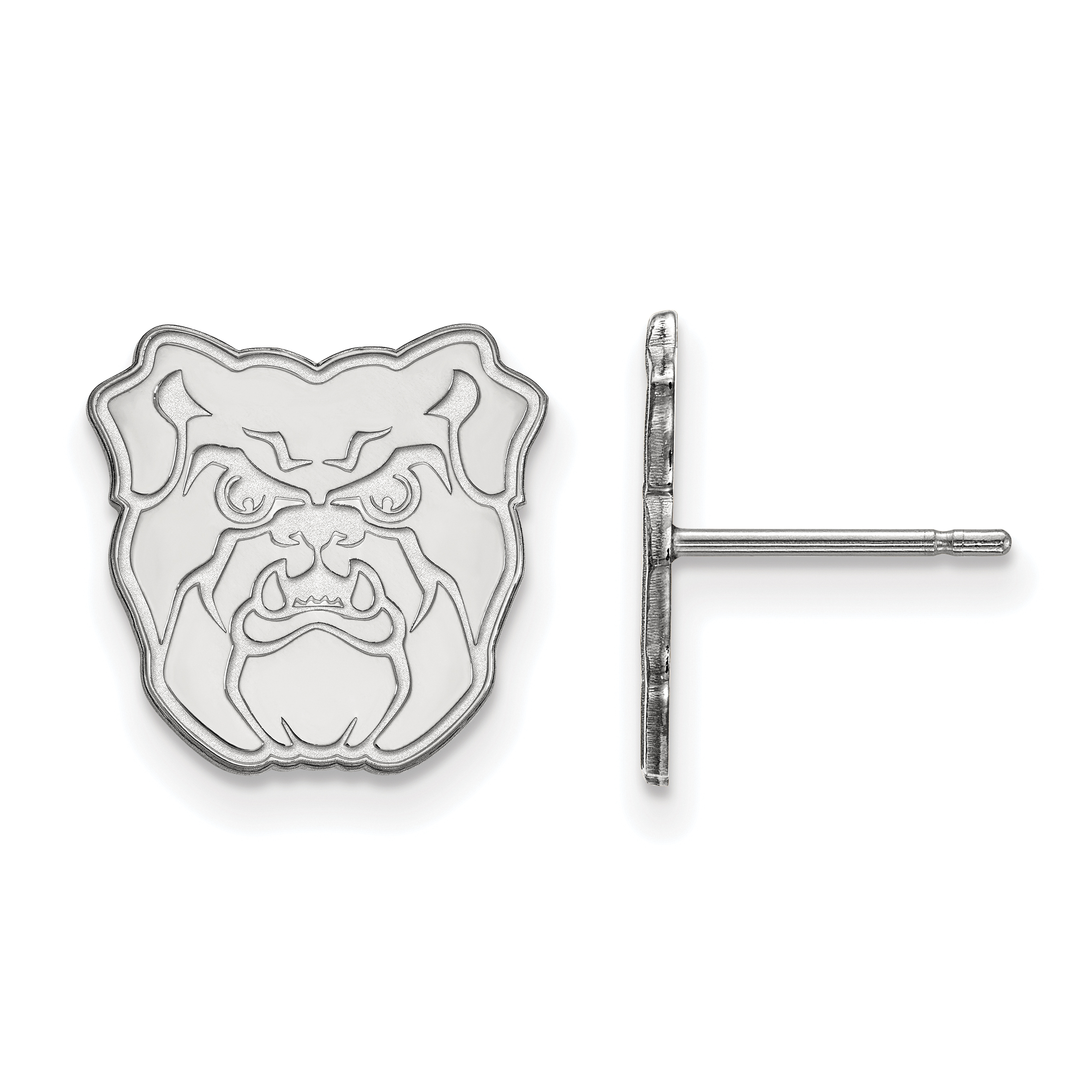 10kw Butler University Small Post Earrings. weight: 2.05, Lengh: 12mm