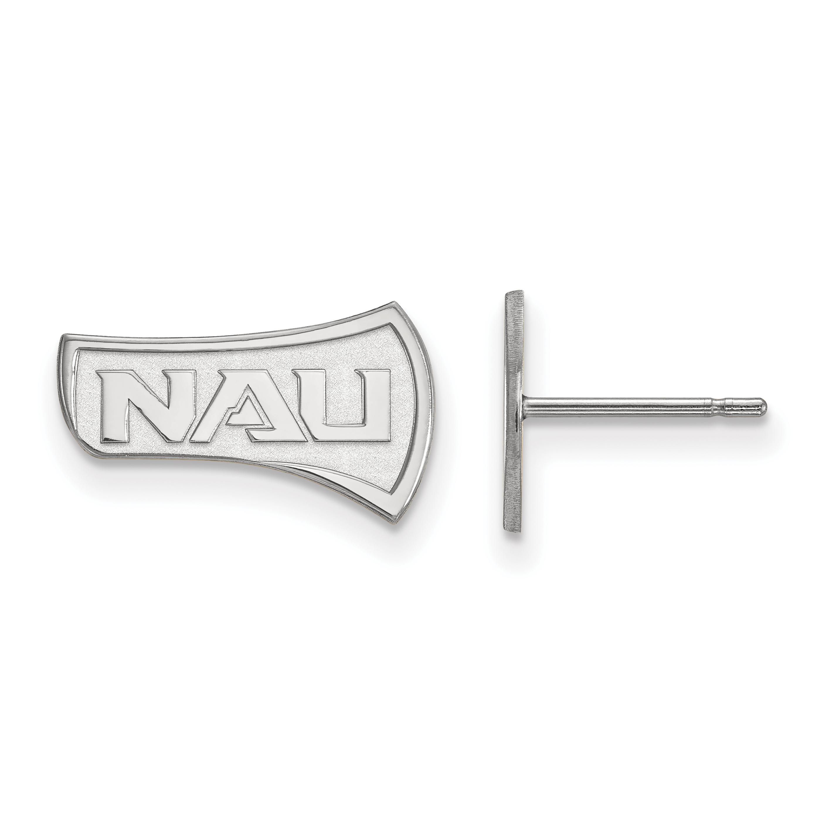 10kw LogoArt Northern Arizona University Small Post Earrings