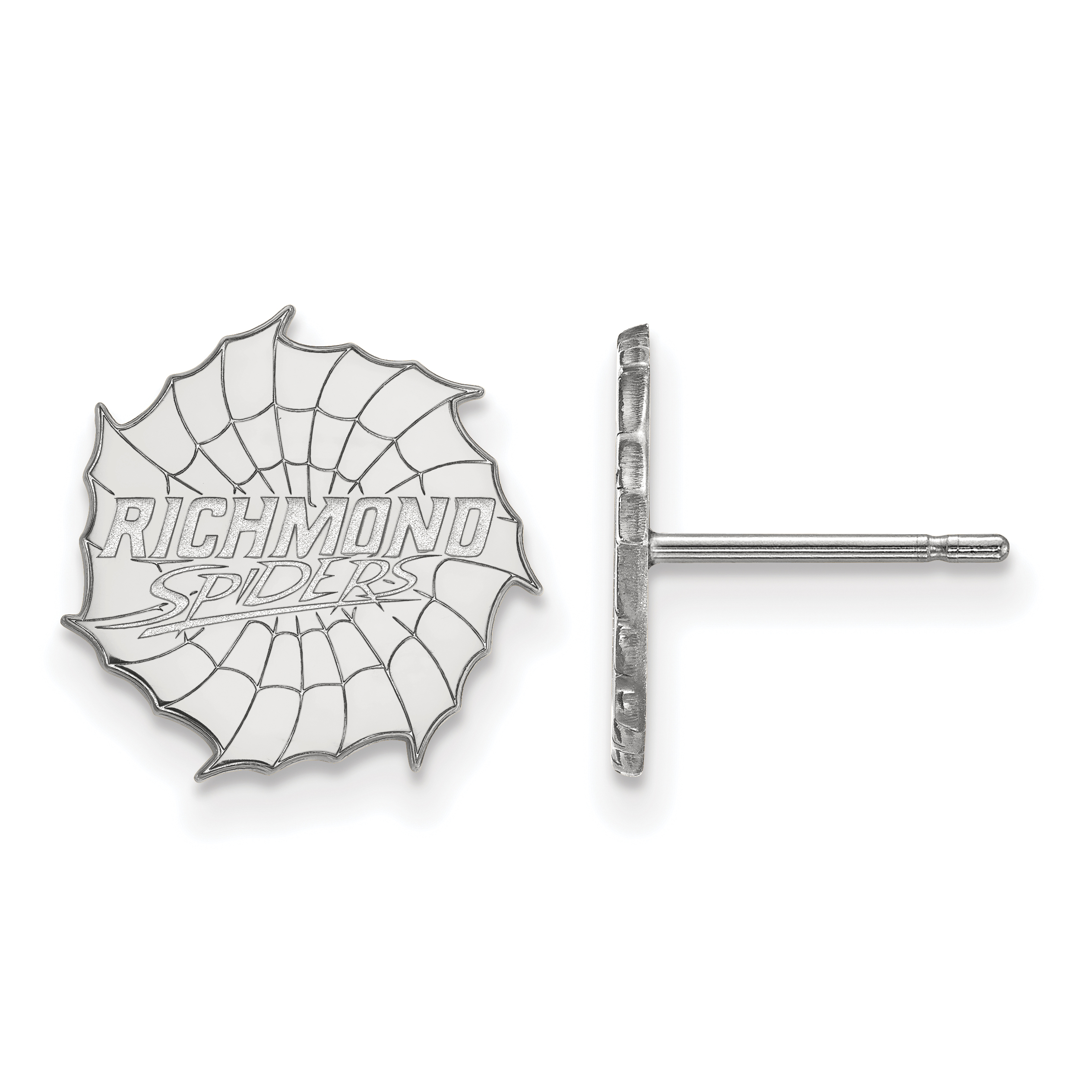 10kw University of Richmond Small Post Earrings. weight: 1.92, Lengh: 12mm