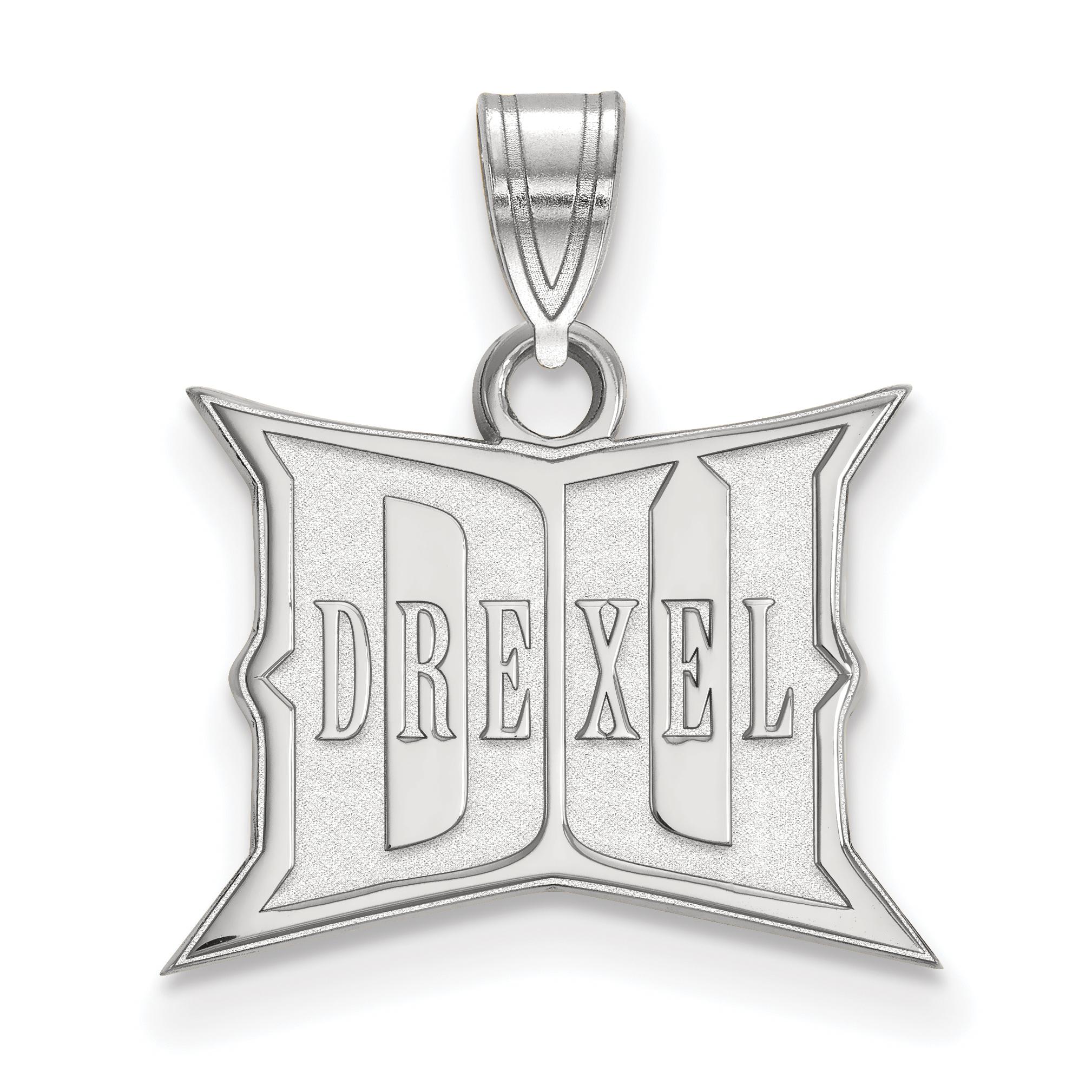 10kw LogoArt Drexel University Small Pendant