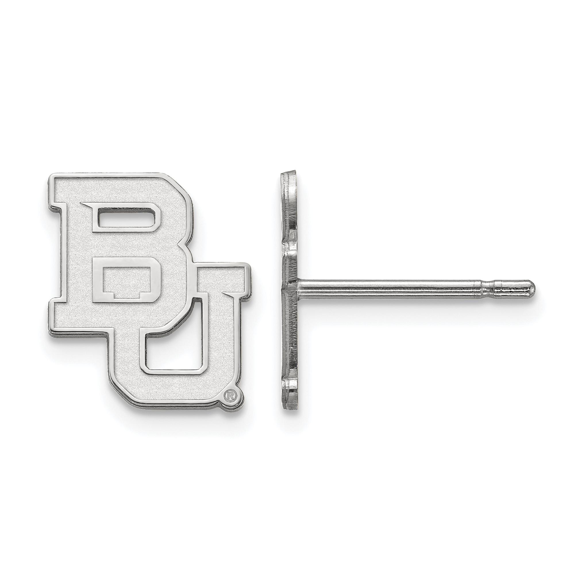 10kw LogoArt Baylor University XS Post Earrings