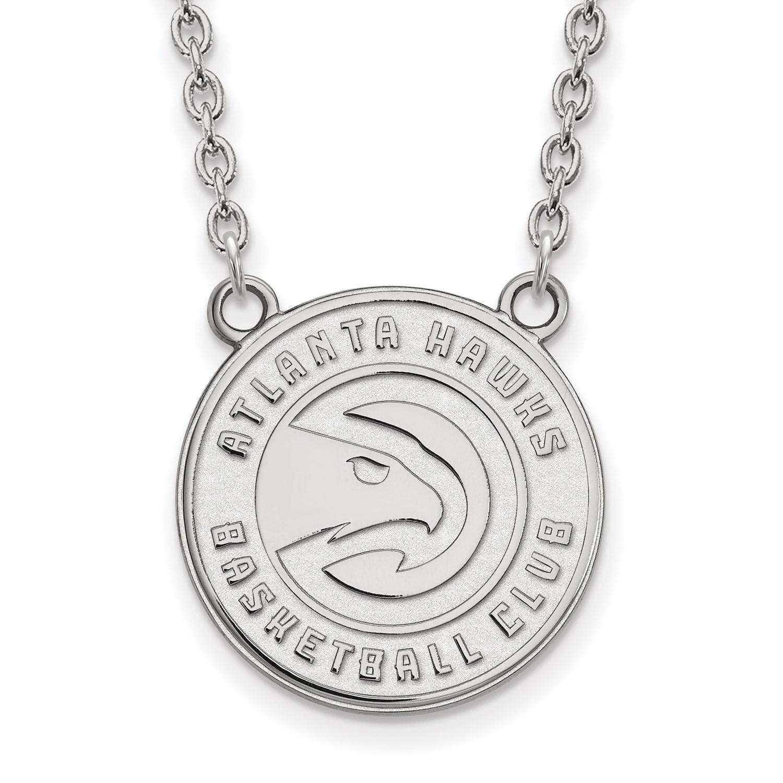 Stg Silver NBA Basketball 18in Licensed Atlanta Hawks Large