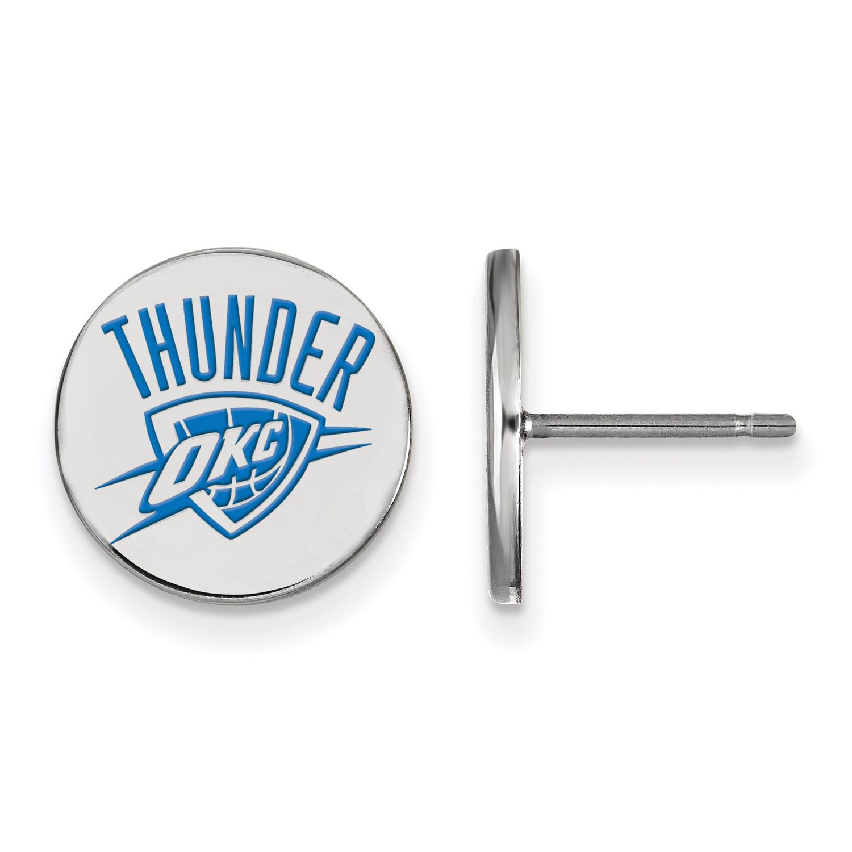 silver nba basketball licensed oklahoma city thunder