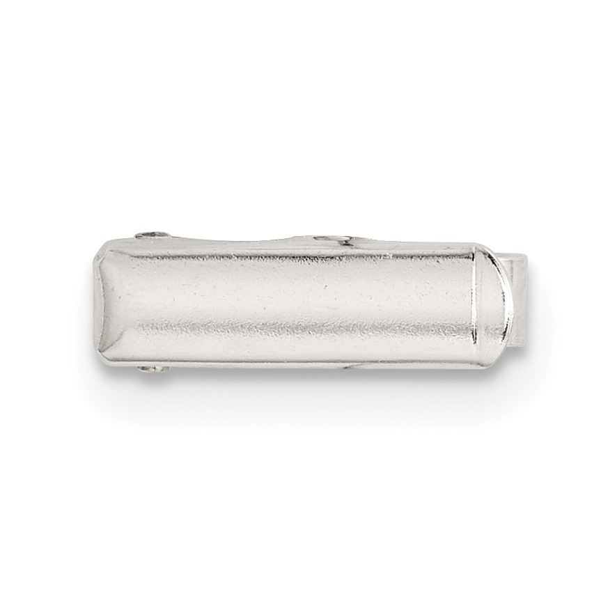 Jewelry Necklaces CZ Sterling Silver Majestik Rhod-plated 12-13 White Shell CZ Fancy Clasp Neckl
