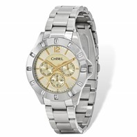 9f5128946b5157 Mens Chisel Stainless Steel Champagne Dial Watch