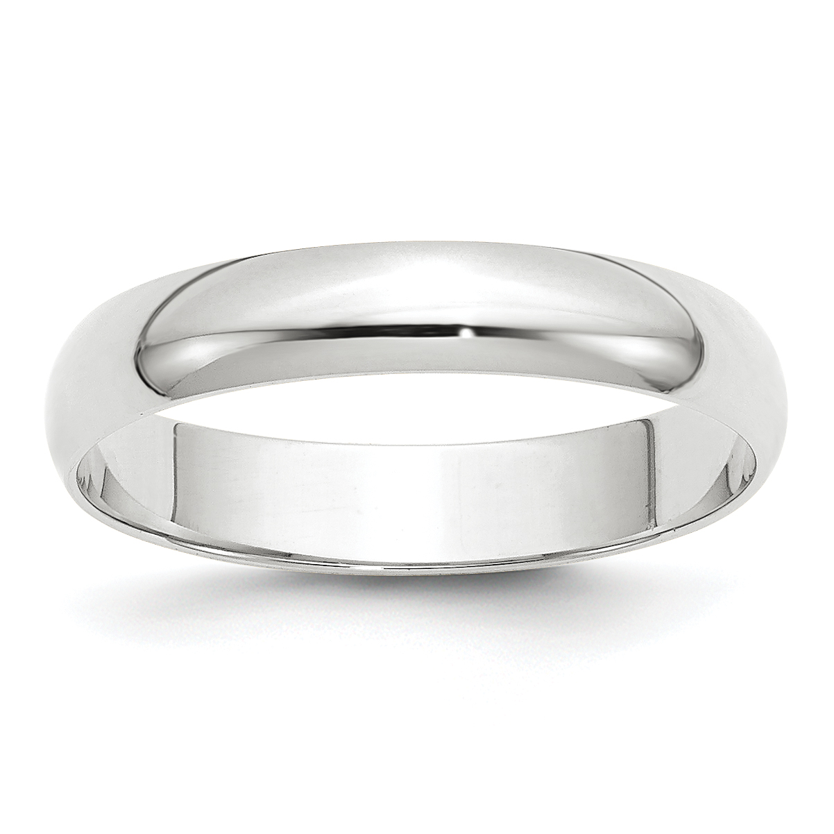 10KY 8mm LTW Half Round Band Size 5.5 Size 5.5 Length Width 8