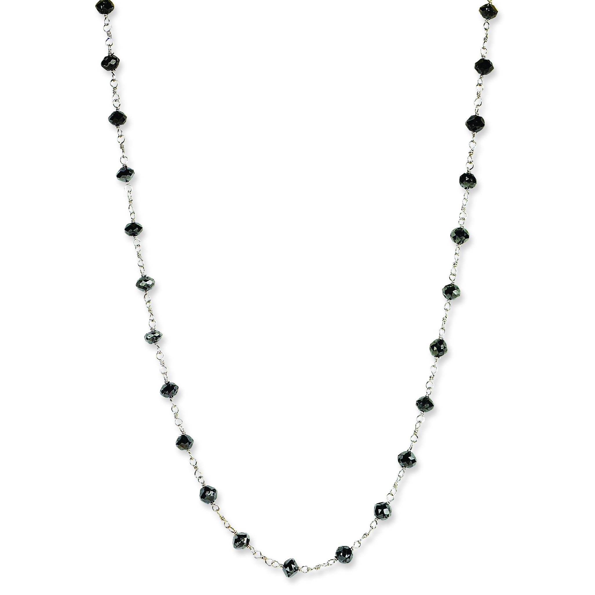and briolette grey cut products rose grande high aurum necklace res
