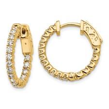 In & Out Hoop Earrings