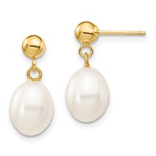 Rice Pearl Dangles Series