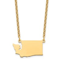 GP WA State Pendant with chain
